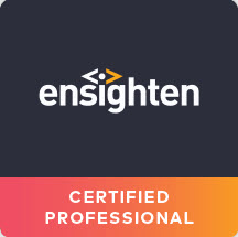 Ensighten certified professional