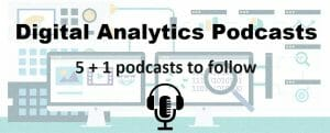 Digital analytics podcasts cover image